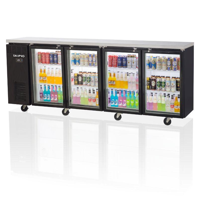 Skipio SBB-4G Side Back Bar Refrigerator