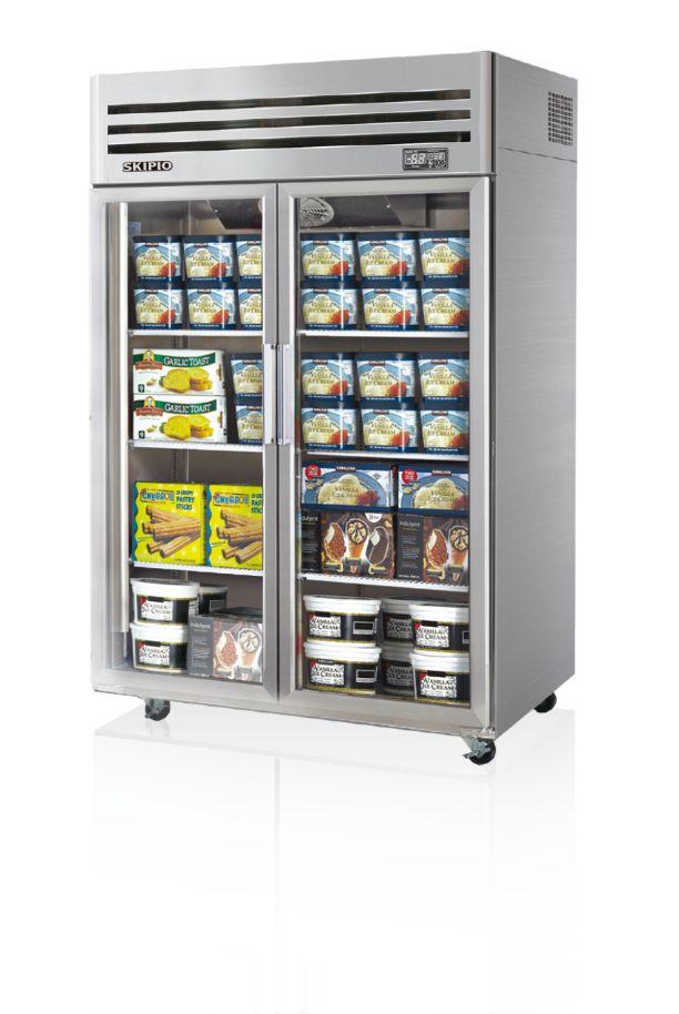 Skipio SFT45-2G Reach-in(Glass Door) Freezer