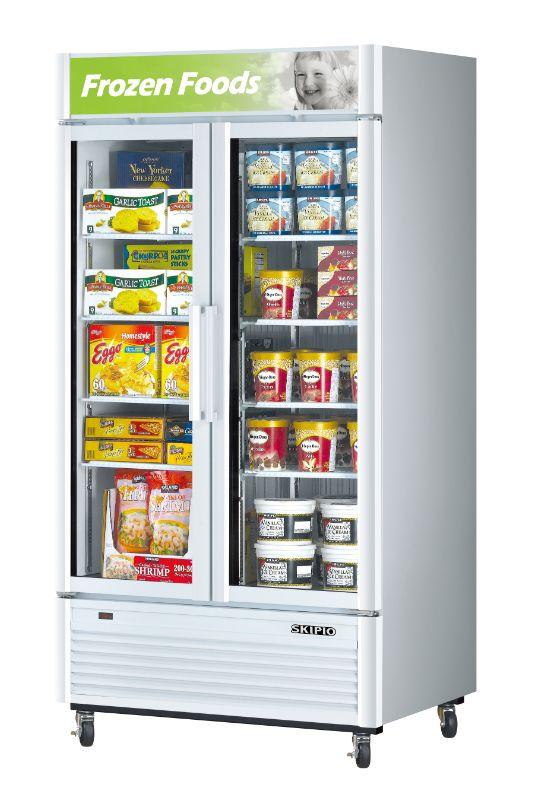 Skipio SGF-35 Glass Door Merchandiser Freezer
