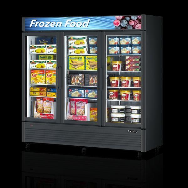 Skipio SGF-72 Glass Door Merchandiser Freezer