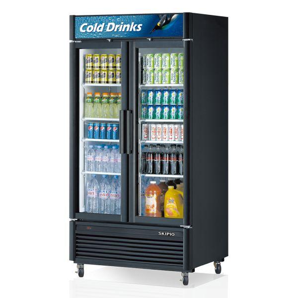 Skipio SGM-35 Glass Door Merchandiser Refrigerator