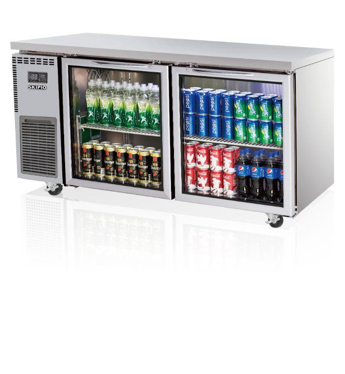 Skipio SGR15-2 Undercounter (Glass Door) Refrigerator