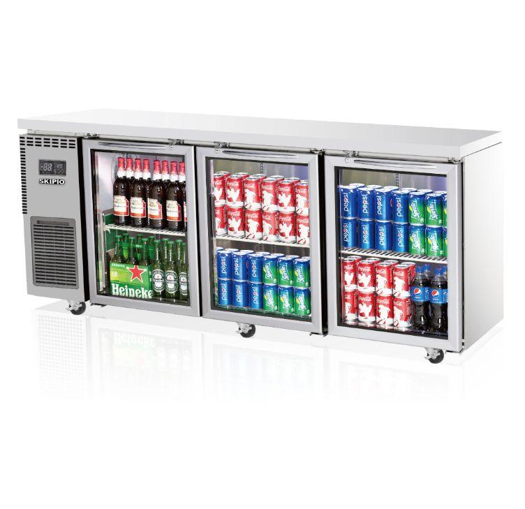 Skipio SGR18-3 Undercounter (Glass Door) Refrigerator