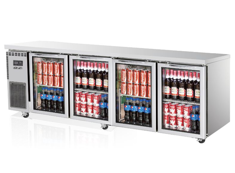 Skipio SGR24-4 Undercounter (Glass Door) Refrigerator