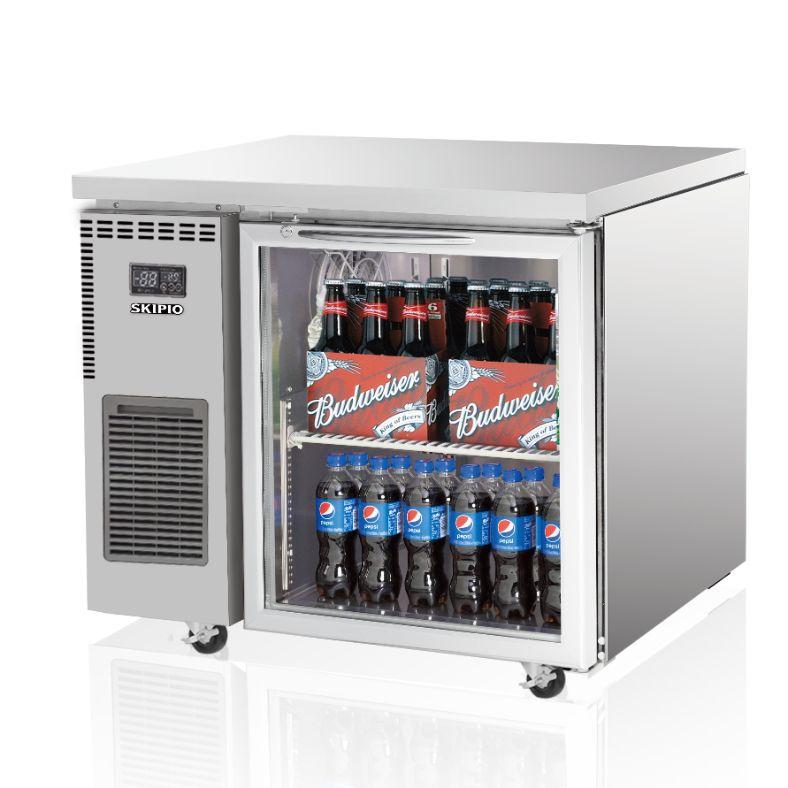 Skipio SGR9-1 Undercounter (Glass Door) Refrigerator