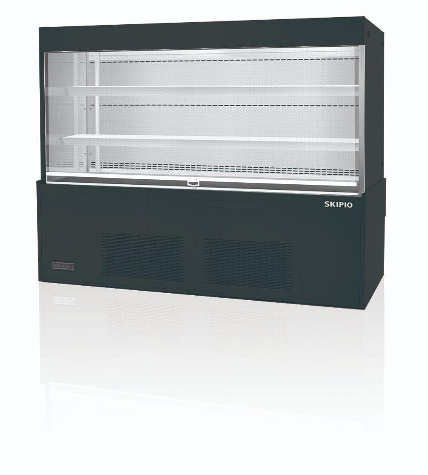 Skipio SOA-1800 Open Case Refrigerator