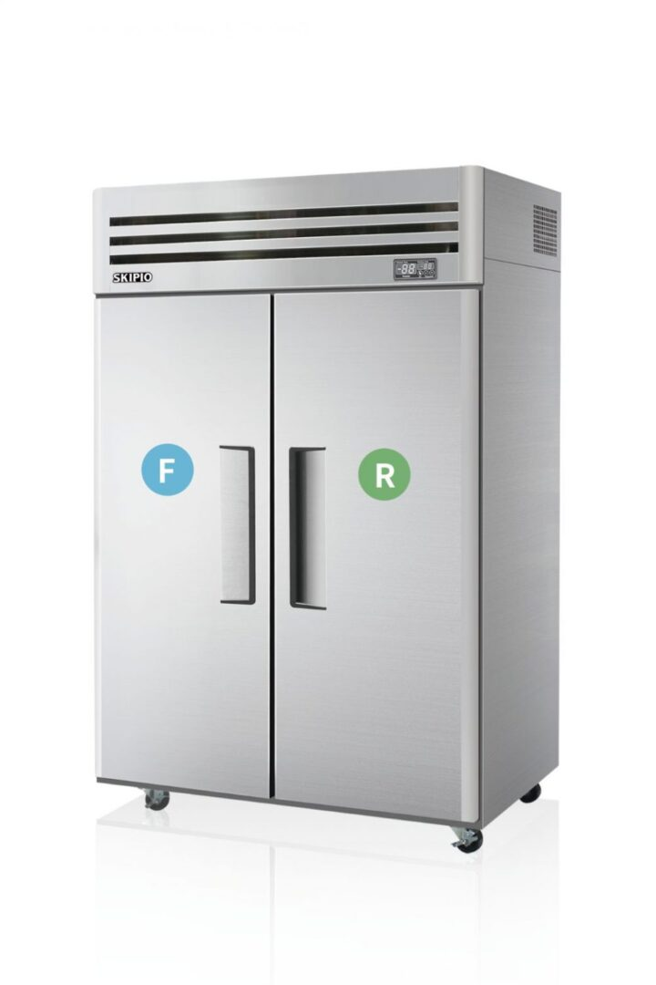 Skipio SRFT45-2 Reach-in Dual temp Refrigerator & Freezer