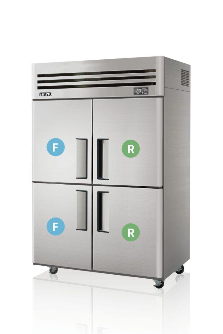 Skipio SRFT45-4 Reach-in Dual temp Refrigerator & Freezer