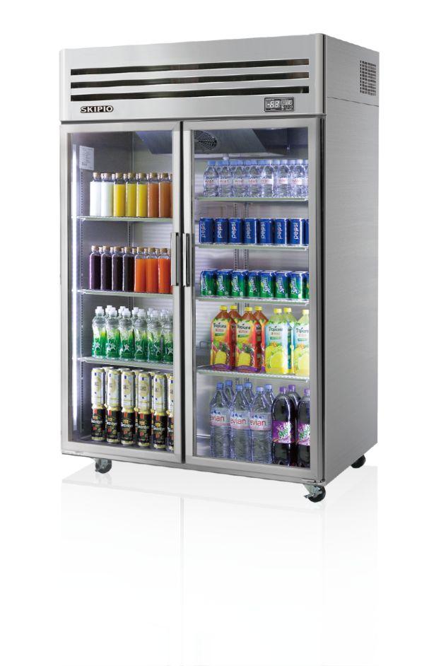 Skipio SRT45-2G Reach-in(Glass Door) Refrigerator