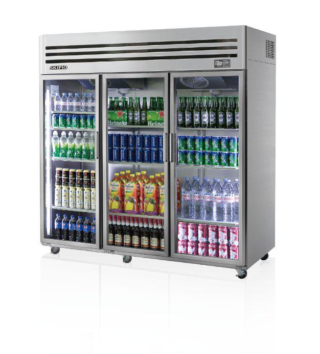Skipio SRT65-3G Reach-in(Glass Door) Refrigerator