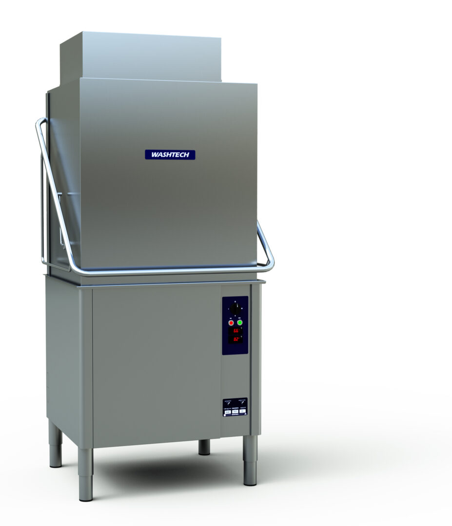 Washtech AL8C – Passthrough Warewasher with Heat Recovery Unit – 500mm x 600mm Rack