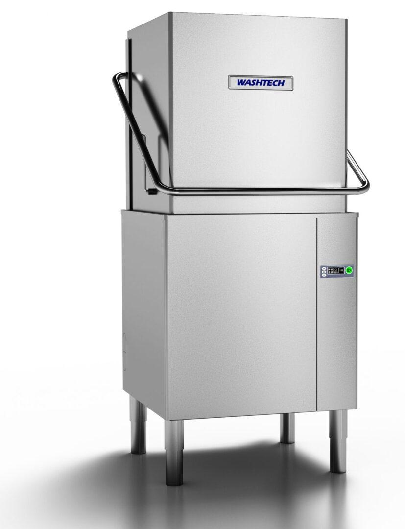 Washtech AL – Premium Fully Insulated Passthrough Dishwasher – 500mm Rack