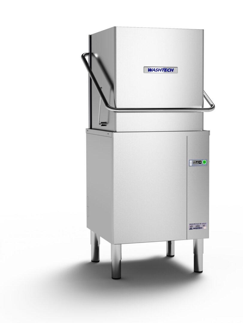 Washtech M2 – Professional Passthrough Dishwasher – 500mm Rack