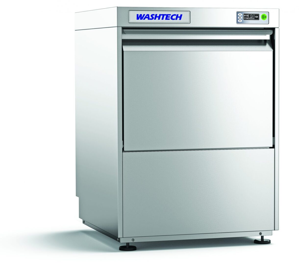 Washtech UL – Premium Fully Insulated Undercounter Glasswasher / Dishwasher – 500mm Rack