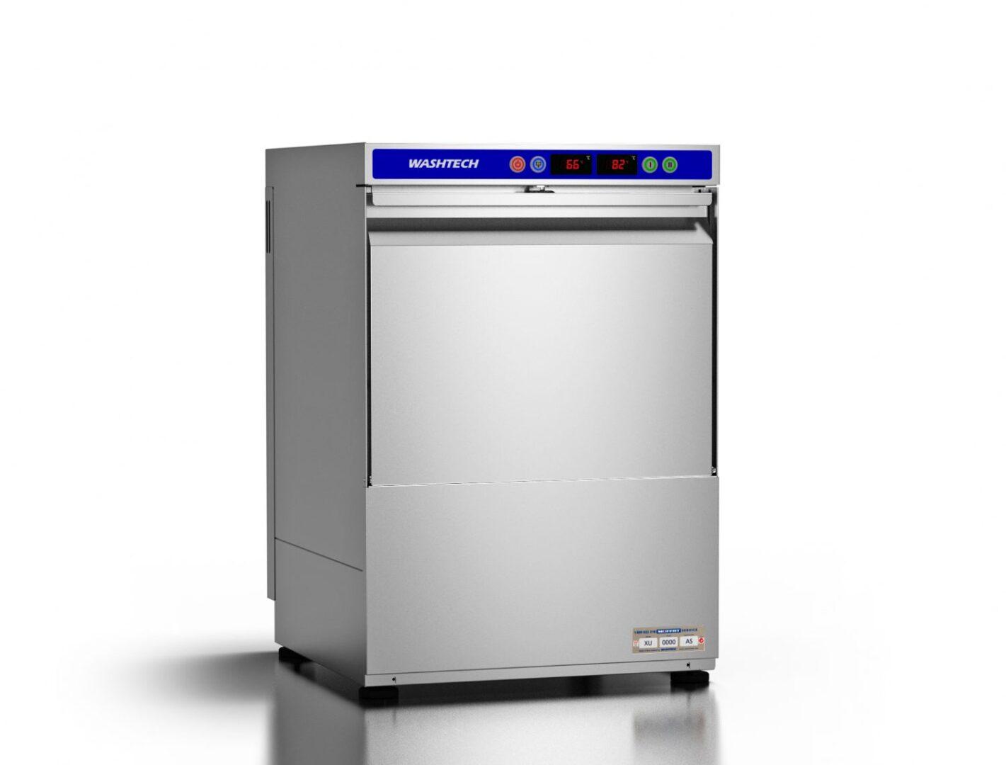Washtech XU – Economy Undercounter Dishwasher / Glasswasher – 500mm Rack