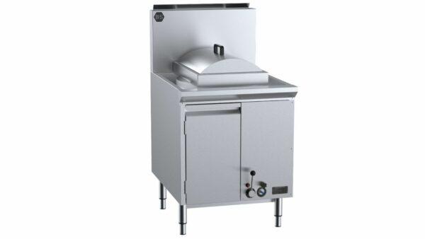 B+S  CFPSF-1HE  Single Hole Waterless Heat Exchange Steamer with Cheung Fun insert