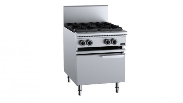 B+S  Verro VAWBT-SB4  Four Burner Boiling Top with lower working height