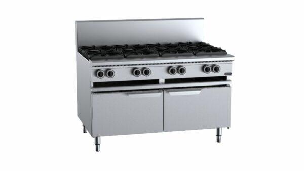 B+S Verro VAWBT-SB8   Eight Burner Boiling Top with lower working height