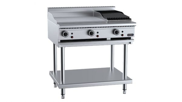 B+S  Verro VHBT-GRP6-CGR3 Combination 600mm Grill Plate & 300mm Char Grill