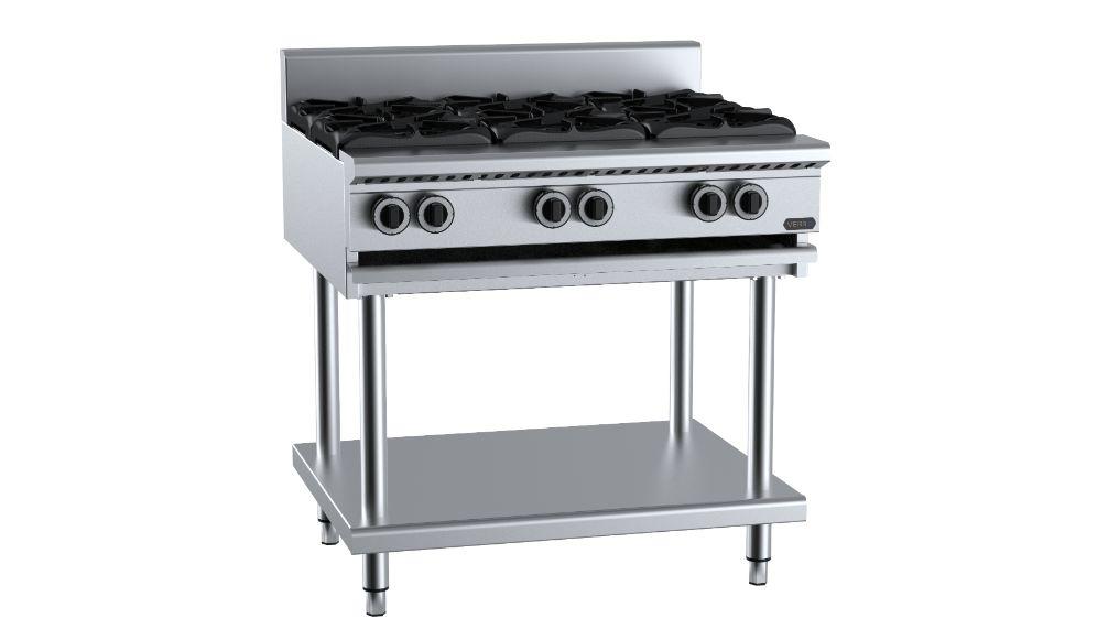 B+S  Verro VHBT-SB6   Six Burner Boiling Top