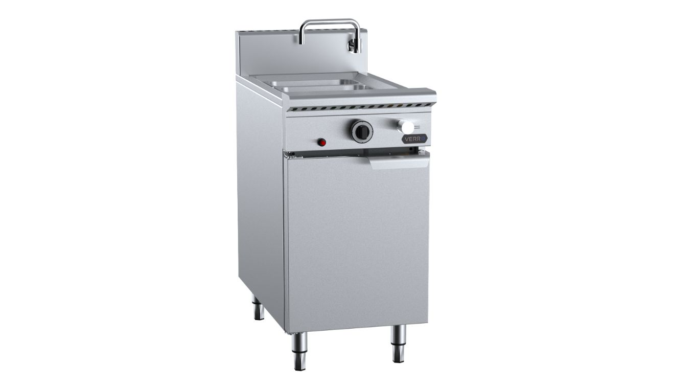 B+S Verro VNC-SW3 Noodle Cooker with Soup Warmer insert (3 rectangulars)