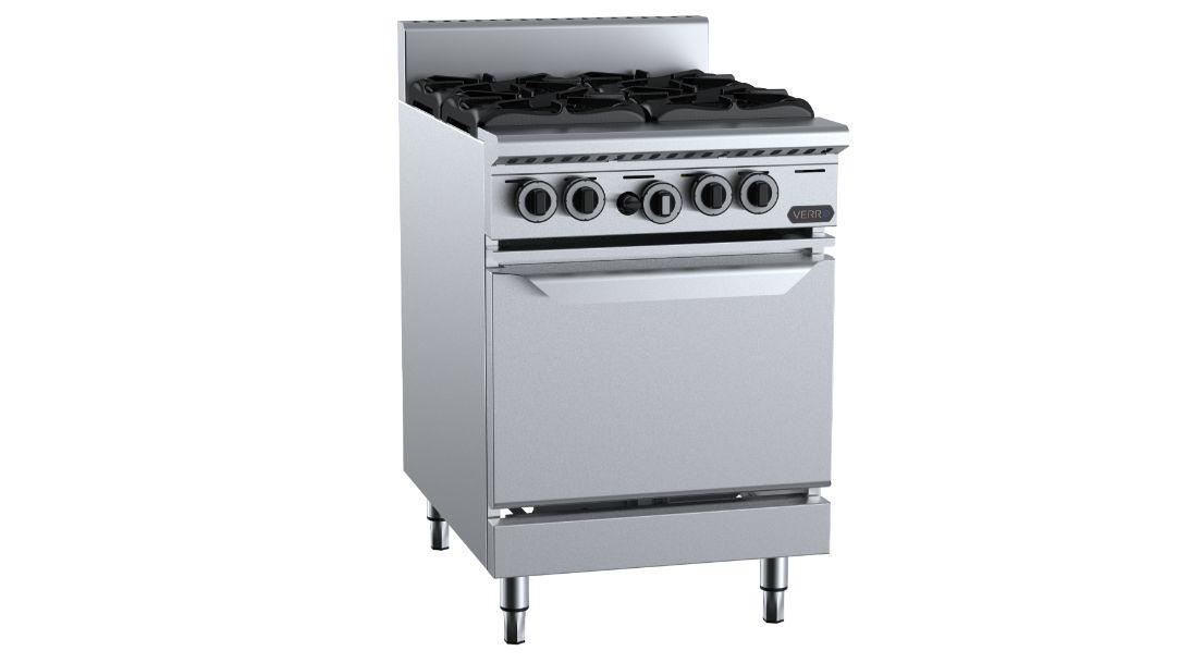 B+S Verro VOV-SB4 Four Burner Oven