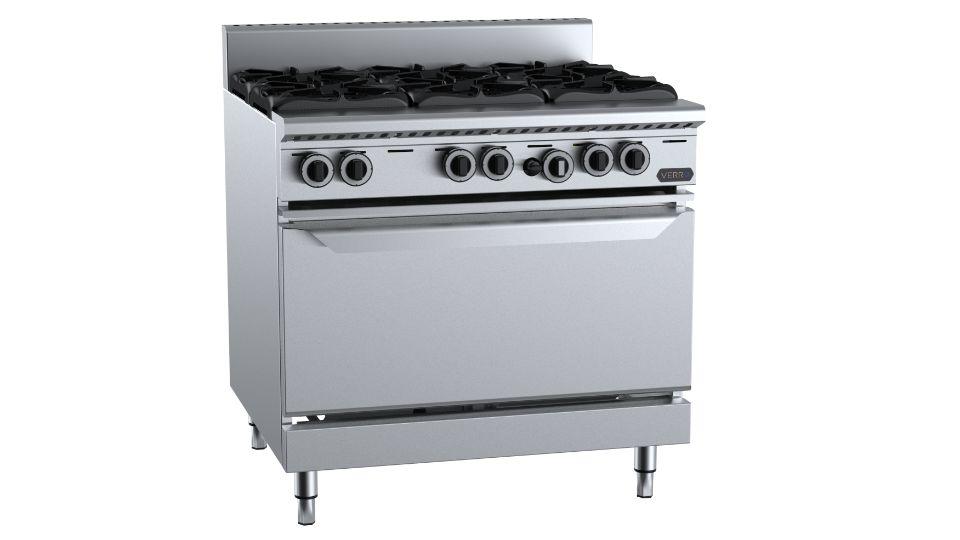 B+S Verro VOV-SB6 Six  Burner Oven
