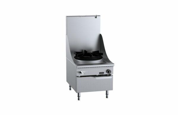 B+S Verro VUFWWSP-1HS  Single Hole Waterless Stock Pot Cooker with High Splashback