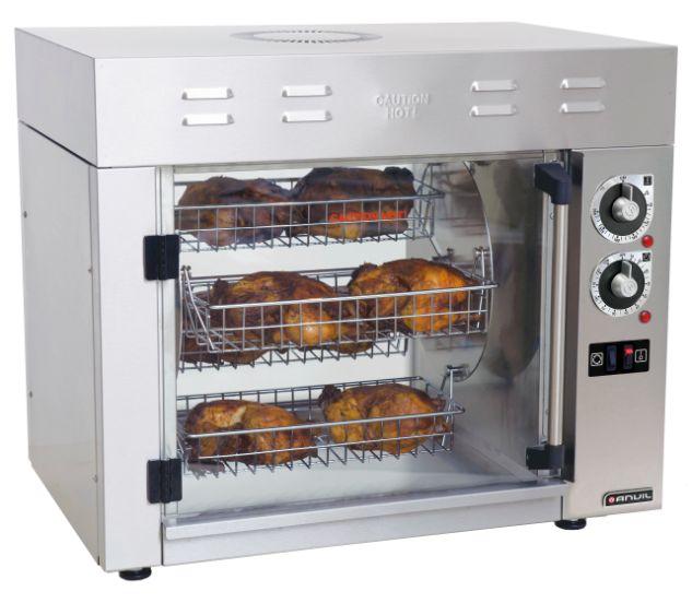 Anvil CGA0008 8 Chicken Rotisserie