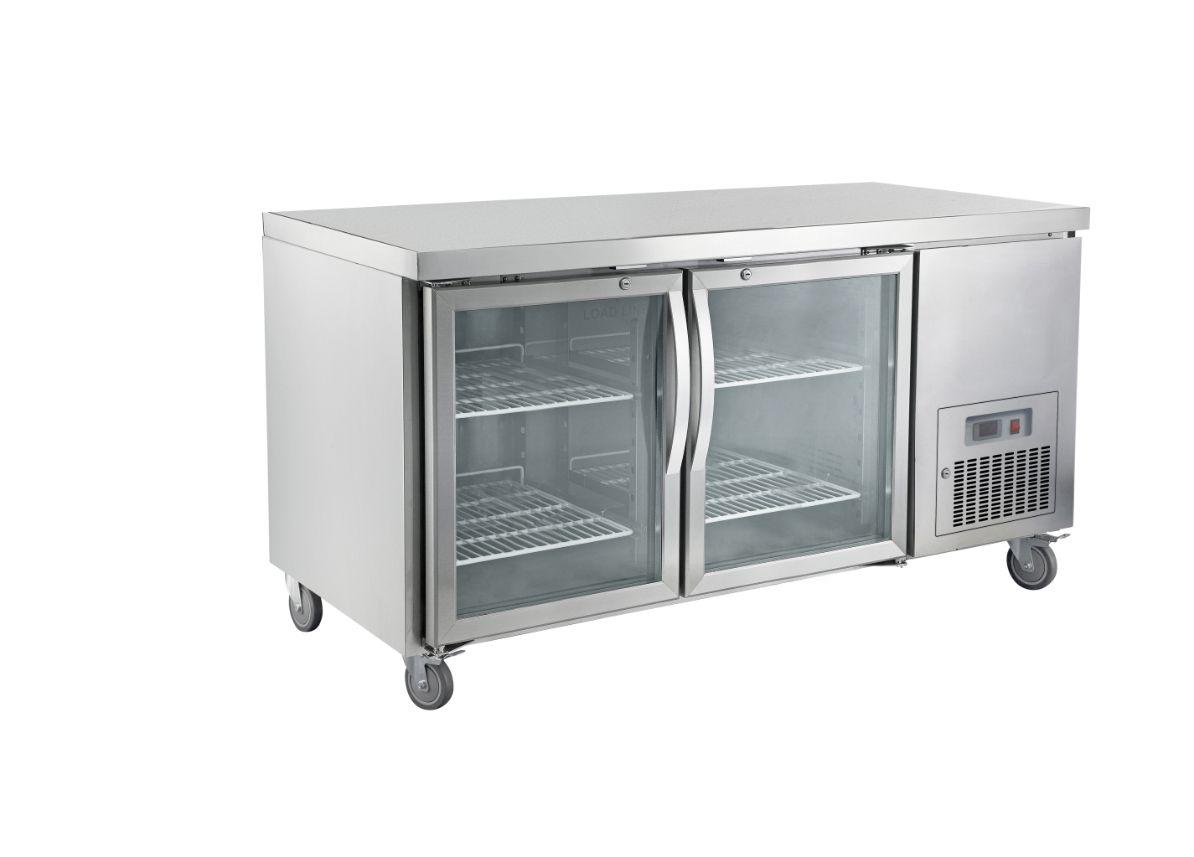 Saltas CUG1500 Glass Door Undercounter Refrigerator