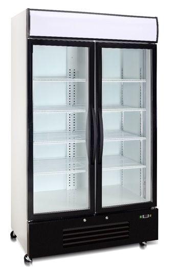 Saltas DFS2999 Double Glass Door Freezer