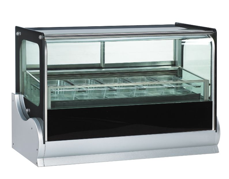 Anvil Aire DSI0540 Countertop Showcase Freezer 190Lt