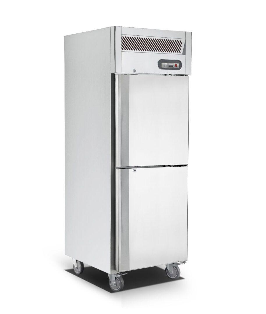 Saltas EUS2738 Upright Single Split Door S/S Freezer