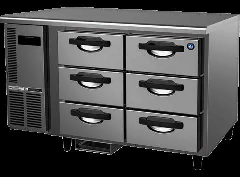 Hoshizaki FTC-125DEA-GN-6 Drawer Type Undercounter Freezer
