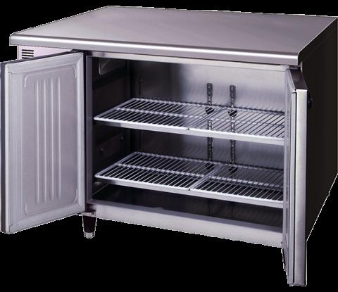 Hoshizaki FTE-120SDA-GN-ML Pillarless 2 Door Undercounter Freezer