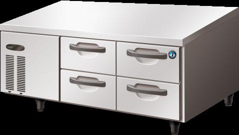 Hoshizaki RTL-140DDAC Pillarless 4 Drawer Undercounter Refrigerator