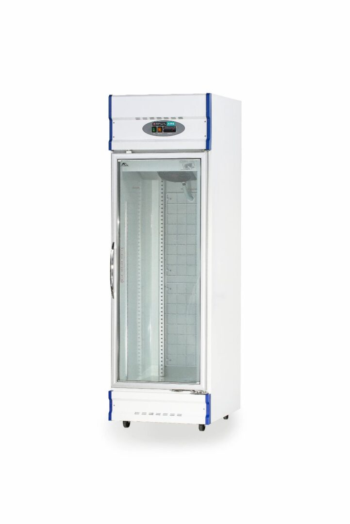 Anvil Aire GDJ0640 Single Glass Door Upright Display Fridge