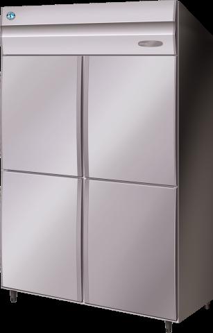 Hoshizaki HRE-127MA-AHD Commercial Series 2 Door Upright Refrigerator Split 1/2 doors