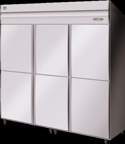 Hoshizaki HRE-187MA-AHD Commercial Series 3 Door Upright Refrigerator Split 1/2 doors