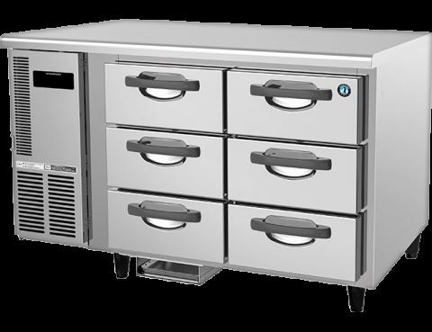 Hoshizaki RTC-125DEA-GN-6D 6 Drawer 100mm Deep Gastronorm Underbench Refrigerator
