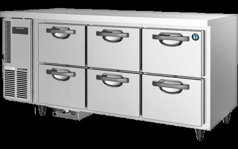 Hoshizaki RTC-167DEA-GN-6D 6 Drawer 150mm Deep Gastronorm Underbench Refrigerator