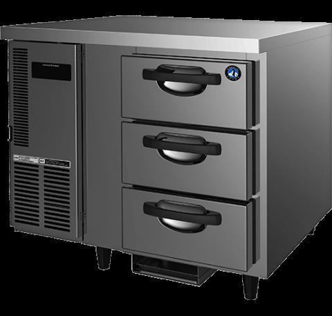 Hoshizaki RTC-90DEA-GN-3D 3 Drawer 100mm Deep Gastronorm Underbench Refrigerator