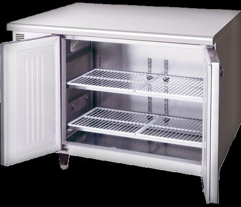 Hoshizaki RTE-120SDA-GN-ML Pillarless 2 Door Undercounter Refrigerator