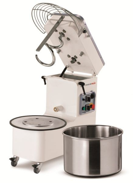 Mecnosud SMM0025 Tilting Head Removable Bowl Spiral Mixer