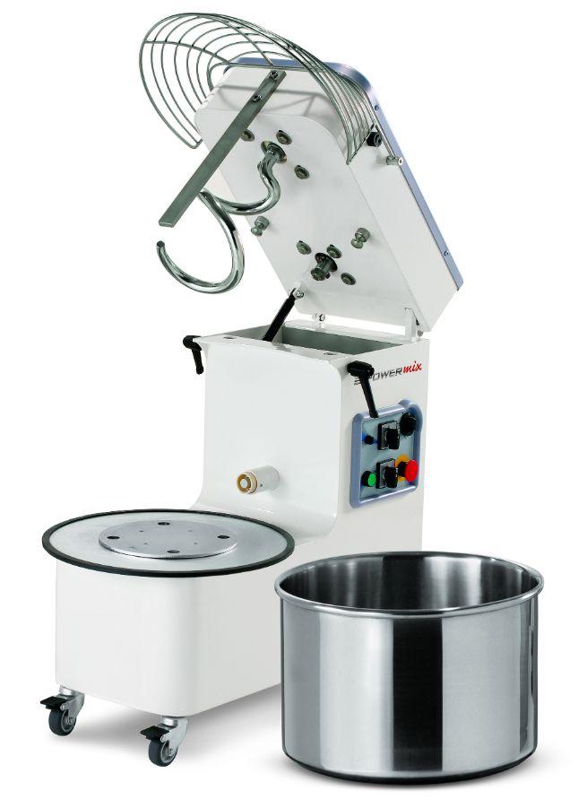 Mecnosud SMM1044 Tilting Head Removable Bowl Spiral Mixer 50Lt