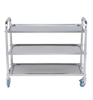 ICE TRS0003 Stainless Steel 3 Tier Trolley