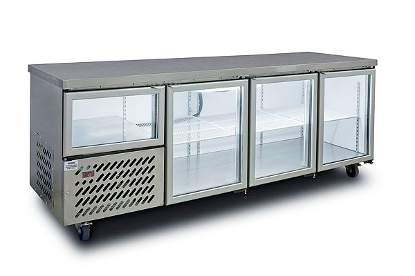 Anvil Aire UBG6240 Glass Door Back Bar 2400mm