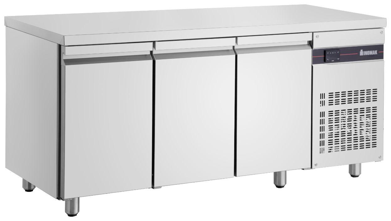 Inomak UBI6179 Ultra Slim 600mm Deep 3 Door Chiller