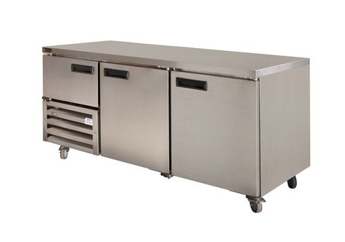 Anvil Aire UBS1800 Stainless Steel Under Bar (2 1/2 St/Steel Doors) 1800mm
