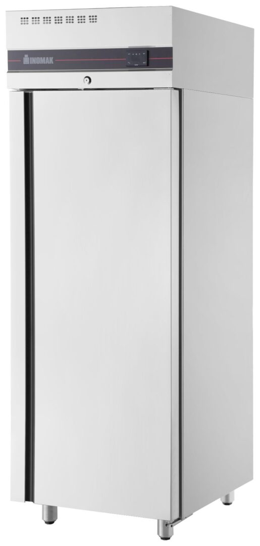 Inomak UFI1170SL Slimline Single Door Upright Chiller